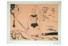 One Kings Lane - Circus Lithograph by S. Féaudierre, #8