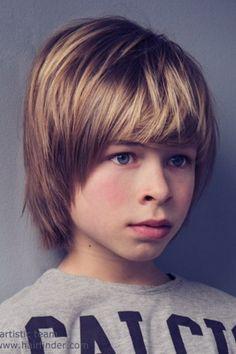 Стрижки на длинные волосы для подростков мальчиков