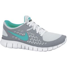 #nike #girl #shoes,Have several pairs of these and love them! Especially love the turquoise and gray!