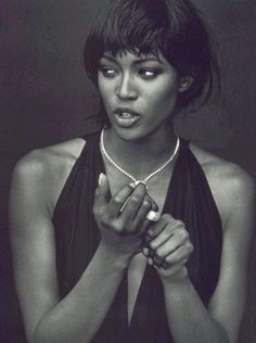 Naomi Campbell by Peter Lindbergh