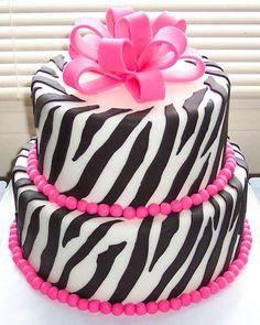Happy birthday cake for Sarah