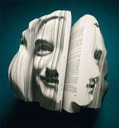 Büchergesichter's book faces.