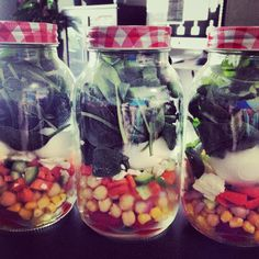 THE NEW CRAZE: SALAD IN A JAR http://spooningaustralia.com/recipes/salad-in-a-jar/ I made this about a month ago and since then it has become this incredibly out of control world craze/ fad. SALADS IN A JAR are the best work lunches you can make-to-take and you can make an entire week on a Sunday and they will last unblemished. Suss my article for recipes and the basic rules of making them. And most importantly start making them yourself!!!