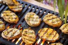 Grilled Yellow Potato Planks Recipe from our friends at the U.S Potato Board