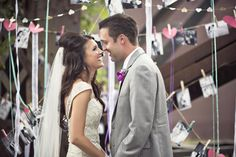 \Real Wedding | Tara + Spencer - Radiant Orchid