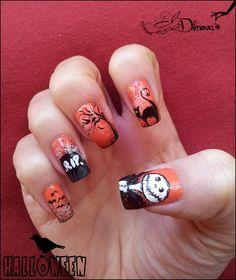 Halloween part 4 by irdimova from Nail Art Gallery