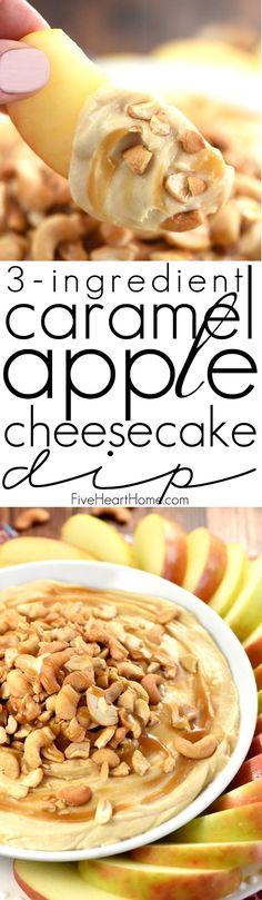 Caramel Apple Cheesecake Dip H