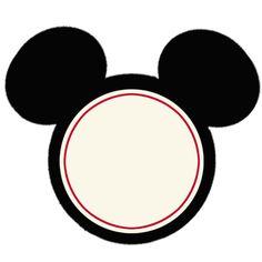 Mickey Mouse free printable
