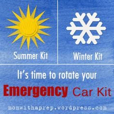 26 APR 2013 Time to Change Your Emergency CarKit posted in EDC/Bug Out/72 hour kit, Preparedness by momwithaprep