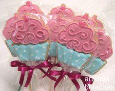 artemel bolachas: Festa de cupcakes
