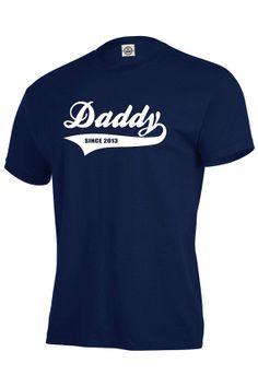 T-shirt de papa personnalisé, cadeau de vacances pour le nouveau papa, papa à être t-shirt