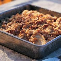 Maple-Walnut Apple Crisp | MyRecipes.com