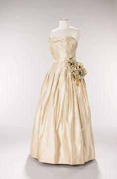 Silk Dior Evening Gown