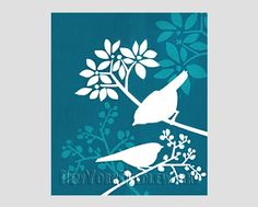 Birds Pattern Cross Stitch Pattern Counted by NewYorkNeedleworks