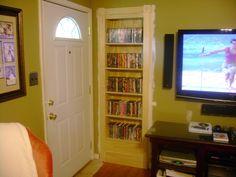 secret book shelf door