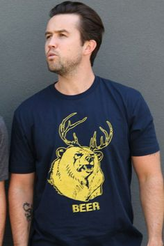 """""""Beer"""" t-shirt, $30"""