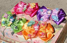 Wemaid Mermaid Lolita Hair bows OOAK handmade each are $15.00  Tarina Tarantino
