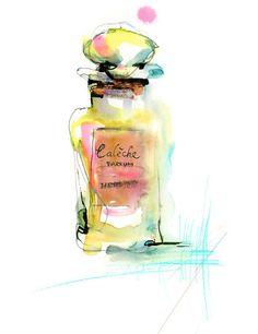 by Marta Spendowska  #watercolor #illustration perfum illustr, perfum bottl, watercolor fashion, fashion art, perfume, marta spendowska, la juici, postcard illustration, fashion illustrations