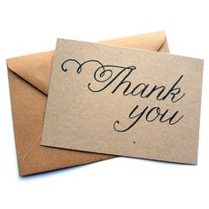Set Of 12 Handmade Thank You Note Cards available on Not on the High Street