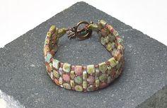 cobbleston path, free pattern, bead bracelet, bracelet patterns, seed beads