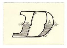 Day 82 • D • Handwritten Letters