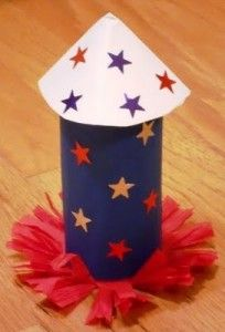 4th of July Crafts round up from Teach Preschool