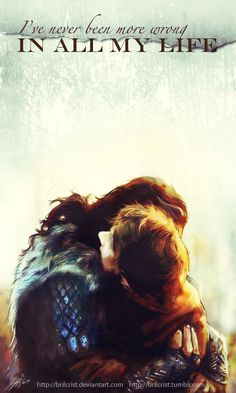 Aww!! Love this. Thorin and Bilbo.  by =brilcrist on deviantART