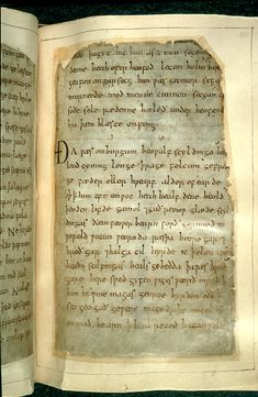 The Beowulf-manuscript, England, early 11th century