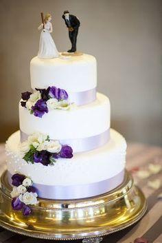 Baseball wedding cake topper at a vineyard themed wedding