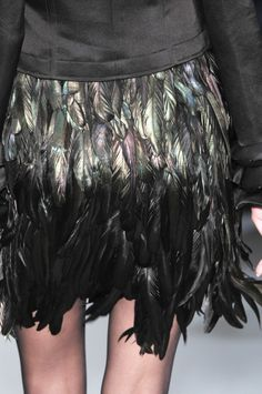 fashion shoe, christoph joss, skirt black, fashion details, skirts, feather skirt, gown dresses, feathers, black feather