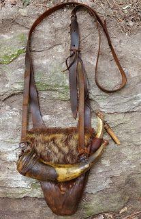 Hunting pouch by Ken Scott.
