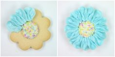 Bright Daisy Cookies