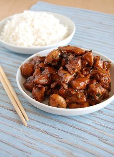 Chicken teriyaki / Frango teriyaki by Patricia Scarpin, via Flickr
