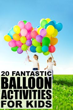 20 balloon activitie