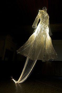 """Fiber optic """"dress"""""""