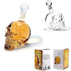 Skull Face Glass