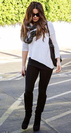 Kate Beckinsale.. black and white.. European edge to LA style..