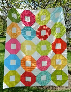 Simple quilt top