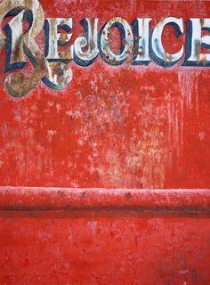 Rejoice from fishing boat, oil on board by Rich Johnson