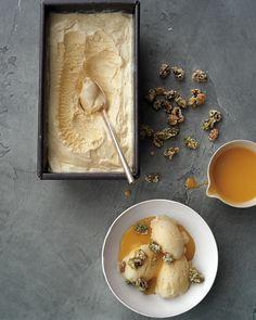 Lemon Curd-Pistachio Sundaes
