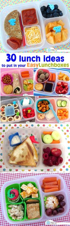 30 packed lunch idea