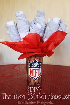 Valentines day: The Man (SOCK) Bouquet