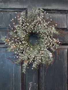 christmas wreaths, rustic christma, winter wreaths