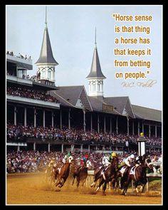 Horse sense! W.C. Fields
