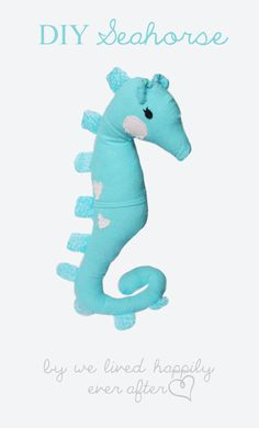 Amazing Seahorse Pattern and Tutorial! Love it!