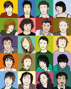 opi inspir, pop art, opi style, art educ, opi graffiti, elementari art, awesom artistri, julian opi, portrait