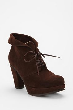 6x6 by No.6 Heeled Sherpa Bootie  #UrbanOutfitters