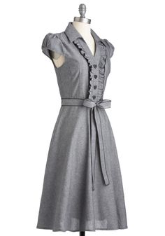 Love this dress - with a colorful belt! About the Artist Dress | Mod Retro Vintage Dresses | ModCloth.com