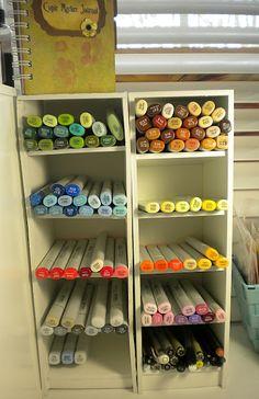 Copic Marker Storage