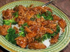 Crockpot Teriyaki Chicken with Broccoli